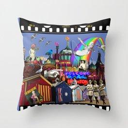 Fabulous Brighton Throw Pillow