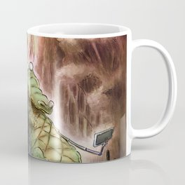 Crocodile selfies Coffee Mug