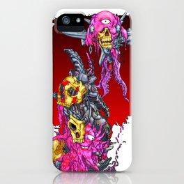 METAL MUTANT 1 iPhone Case