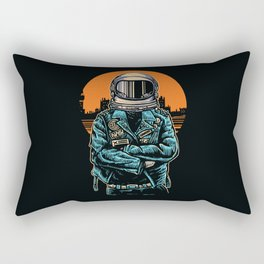 Rebel Astronout Rectangular Pillow