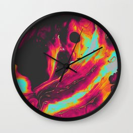 MIDNIGHT MISTAKES + REACTIONS Wall Clock
