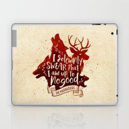 I solemnly swear Laptop & iPad Skin