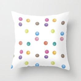 Bubble pattern 2 Throw Pillow