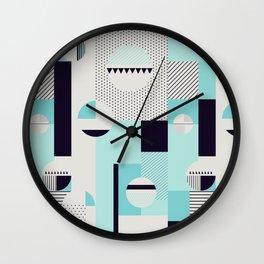 Picnic on the beach Wall Clock
