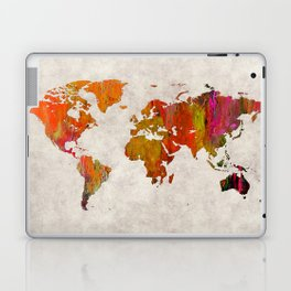 World Map 57 Laptop & iPad Skin