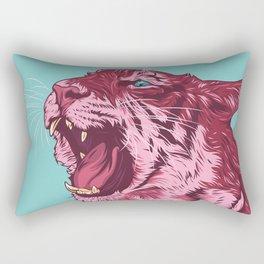 Magenta tiger Rectangular Pillow