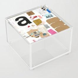 Paper Trail I  Acrylic Box