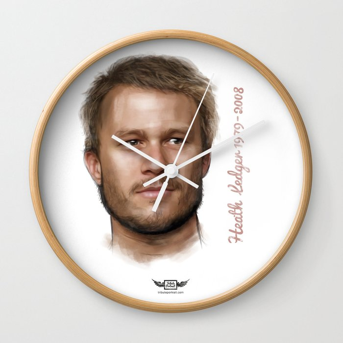 Heath Ledger Wall Clock