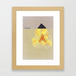 Heart of the Ocean Framed Art Print