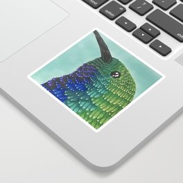 Humming Bird Sticker