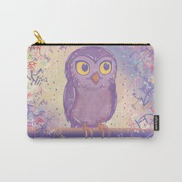 Enchanting Little Owl Carry-All Pouch