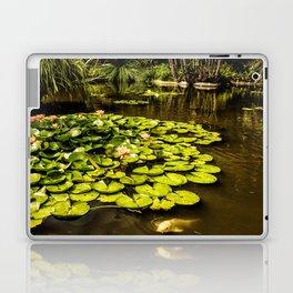 Water Lily Pond at Huntington Gardens No. 2 Laptop & iPad Skin