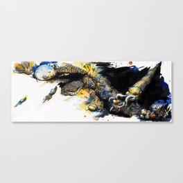 The Silurian Sea Canvas Print