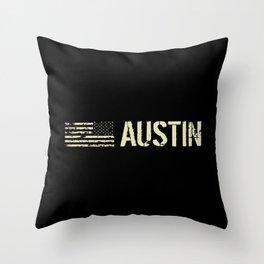 Black Flag: Austin Throw Pillow
