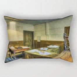 Antique Office Rectangular Pillow