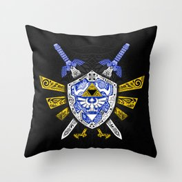 Heroes Legend - Zelda Throw Pillow