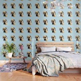 Great Dane Art - Dog Painting by Sharon Cummings Wallpaper
