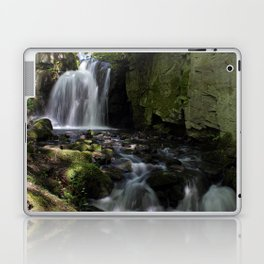 Waterfall at Lumsdale II Laptop & iPad Skin