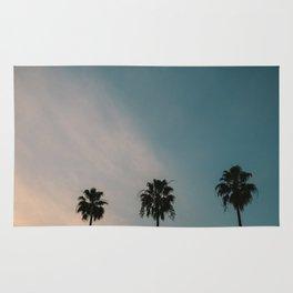 Palm Trees, Culver City Rug