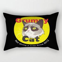 Grumpy Fireworks Rectangular Pillow