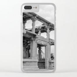 Hampi ruins Clear iPhone Case
