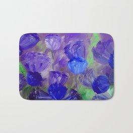 Breaking Dawn in Shades of Deep Blue and Purple Bath Mat