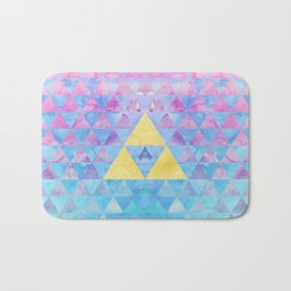 Zelda Geometry Bath Mat