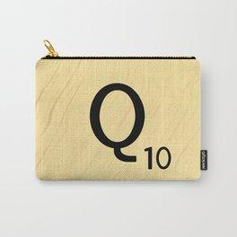 Scrabble Q - Large Scrabble Tile Letter Carry-All Pouch