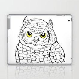Cute Owl by Ines Zgonc Laptop & iPad Skin