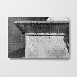 Raindrop, Droptop Metal Print
