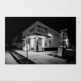 Sunrise Bodega- Midnight Bodega Series Canvas Print