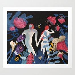 Origins of Sex Art Print