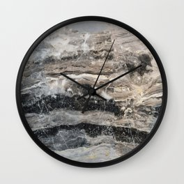 Deep Marble Wall Clock