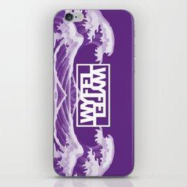 Wyfel Purple iPhone Skin