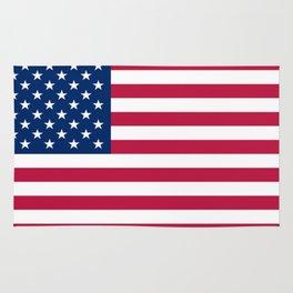 Flag of USA - American flag, flag of america, america, the stars and stripes,us, united states Rug