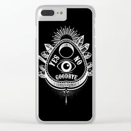 Call Me On the Ouija Board Clear iPhone Case