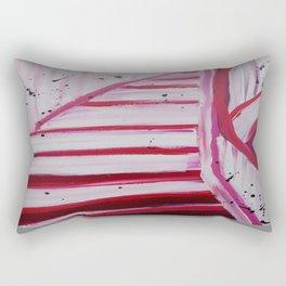 Pink Flight Rectangular Pillow