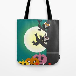 Owls in the moonlight Tote Bag