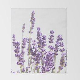 Purple Lavender #1 #decor #art #society6 Throw Blanket