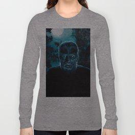 Wolf-Man on the Hunt Long Sleeve T-shirt
