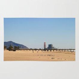 Power Station Beach Rug