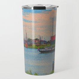 Monet style no.2 Travel Mug