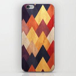 Eccentric Mountains iPhone Skin