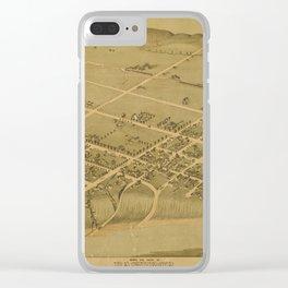 Bastrop Clear iPhone Case