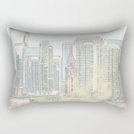 Lackawanna - Hoboken Terminal Rectangular Pillow