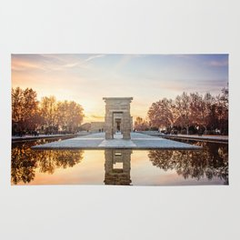 Temple of Debod, Madrid Rug