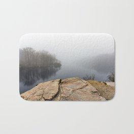 Foggy reflections Bath Mat