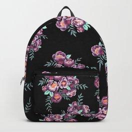 Purple Garden Backpack