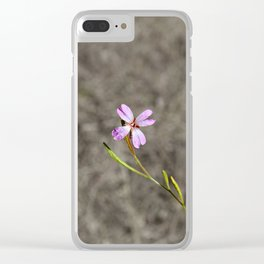 Pink in Idaho Clear iPhone Case