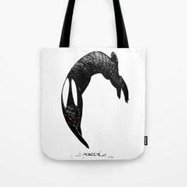 back rabbit of inle Tote Bag